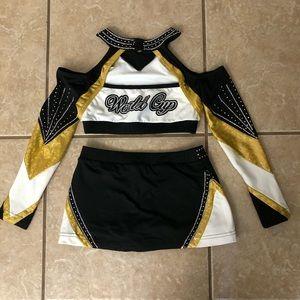 Varsity Costumes - Infinity World Cup Varsity Cheerleading Uniform YL